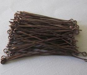 Eyepins Antique Copper 2 inch (100)